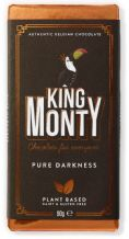 King Monty Pure Darkness Bar - 90g